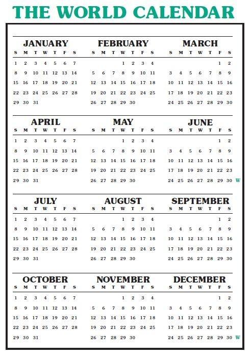 World Calendar.Loud Cry Ministries The World Calendar Deception